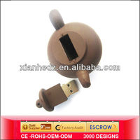 China simple style cheap pot shaped usb, real capacity usb sti, usb flash drive audio output manufacturers and exporters