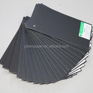 250g Black kraft liner paper for cloth tag