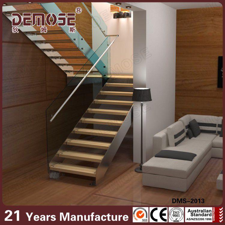 Barandilla de vidrio escaleras plegables tico escaleras for Escaleras en u