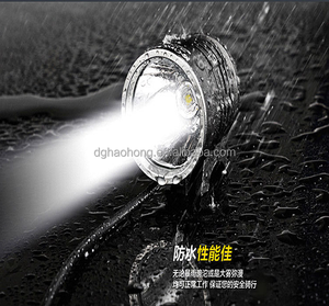 High Quality stainless steel rechargeable Bike Lamp Multi-functional Bicycle Light Led Light For Bike