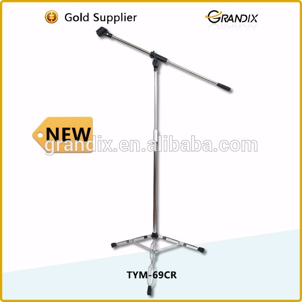 Telescopic microphone stand