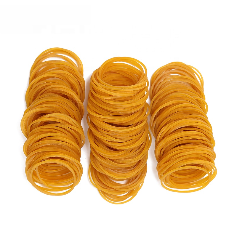 High Quality Environmental 1.5 Inches in Diameter Elastic <strong>Rubber</strong> Bandand natural yellow <strong>rubber</strong> bands