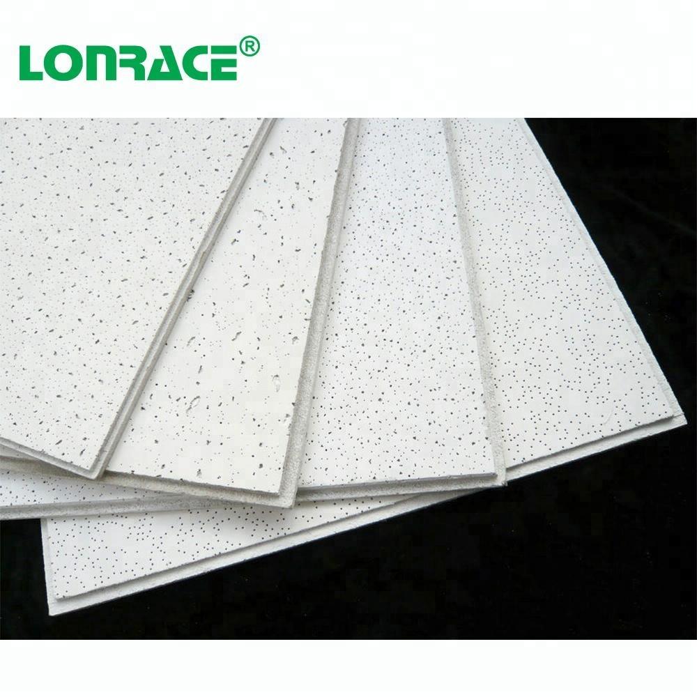 Fibra mineral de techo/ acoustical mineral fiber ceiling, 595x595mm,603x603mm,600x600mm