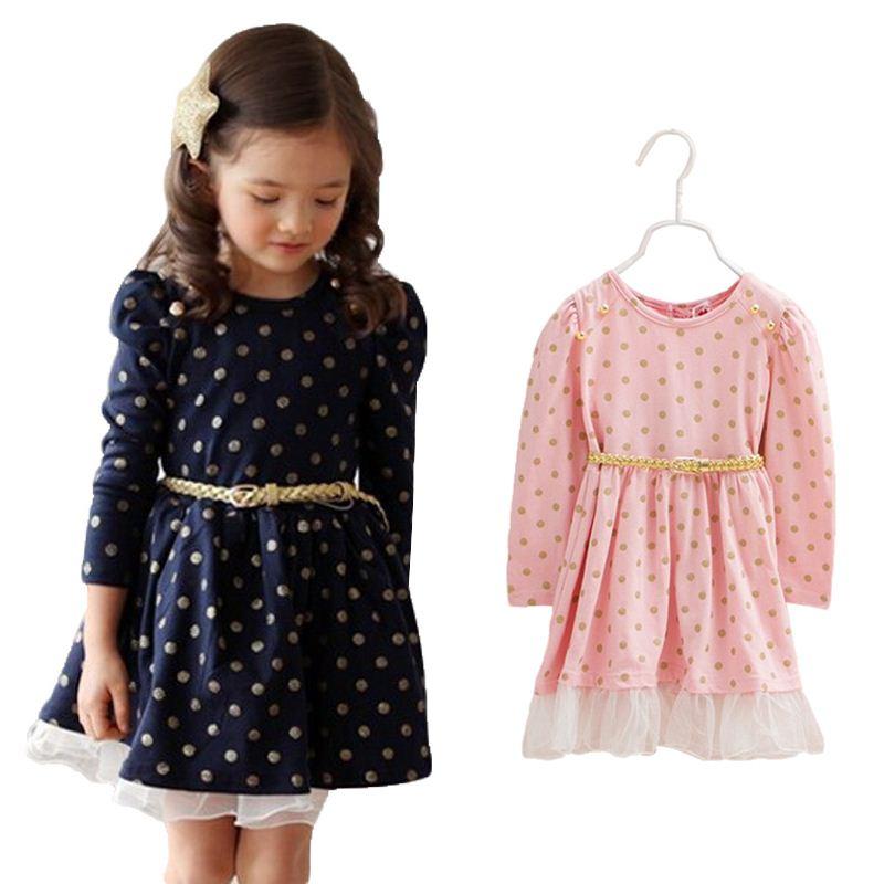Выкройки зимнего платья для девочки
