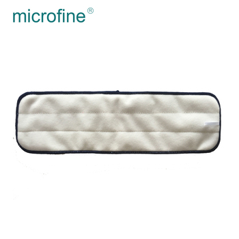 High quality household microfiber twist cloth mop fabric material