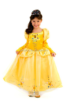 Princess Belle Costume For Girls Party City Costumes Qbc 8814 Buy