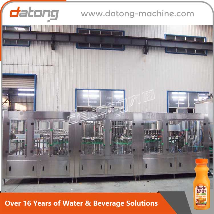Plastic bottle mulberry juice filling machine production line