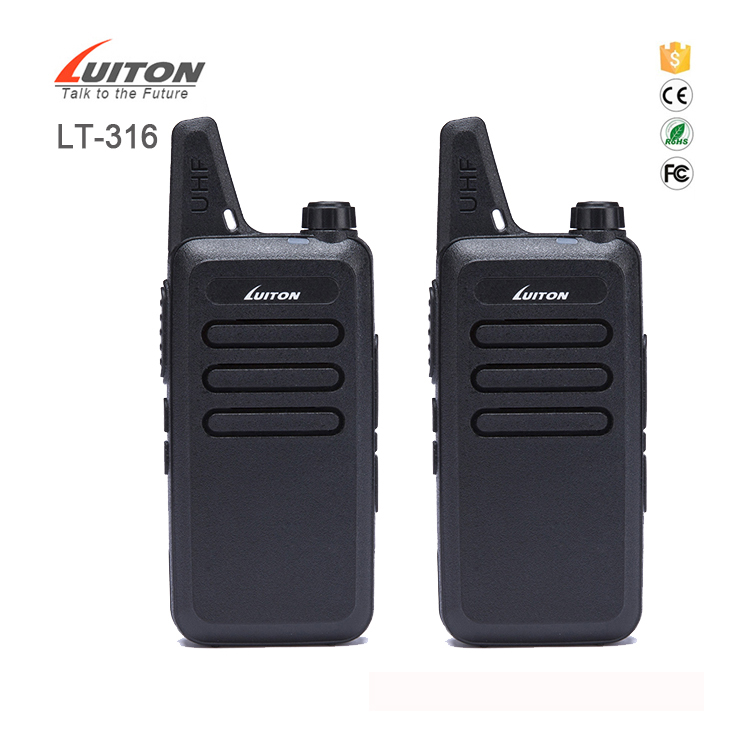 Top Quality Best rechargeable luiton LT-316 walkie talkie toy
