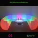 LED glow light mobile home theater bar sofa nightclub sofa
