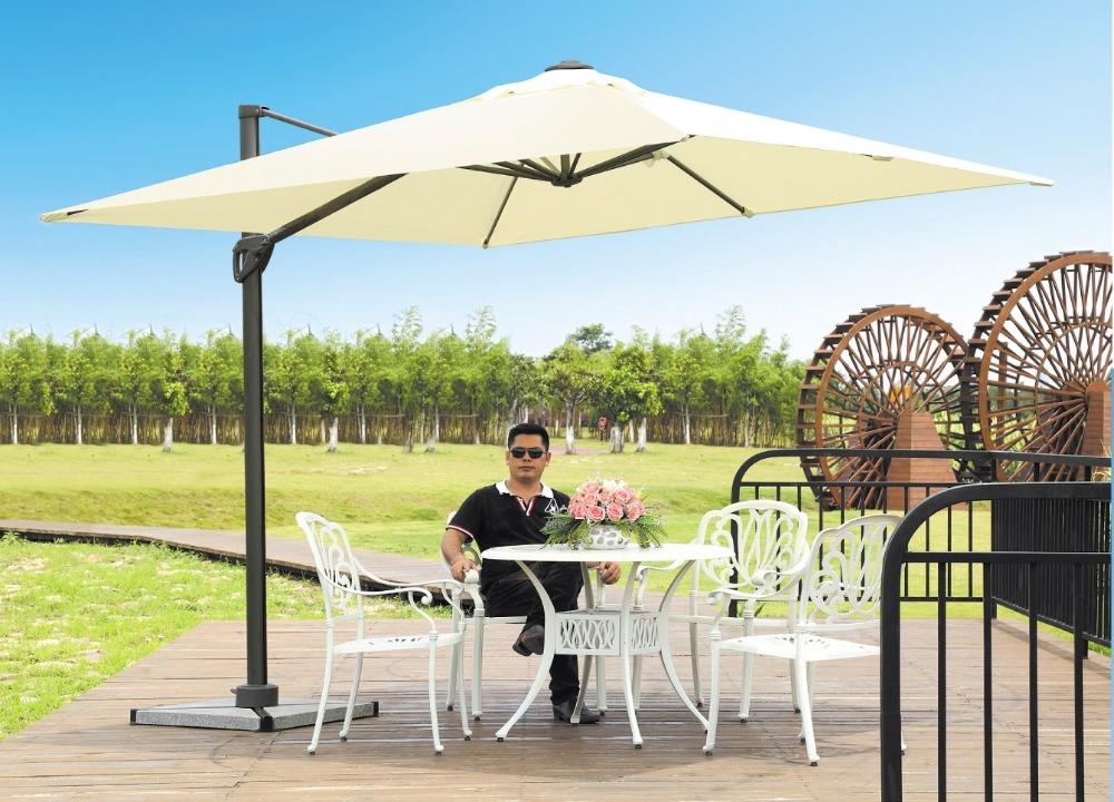 Piscina port til sombrilla paraguas jard n paraguas - Sombrillas para piscinas ...