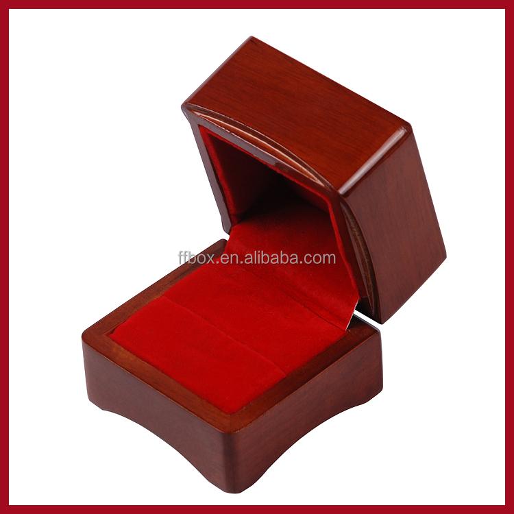 De madera maciza caja de regalo empaquetado de la joyer a - Empaquetado de regalos ...