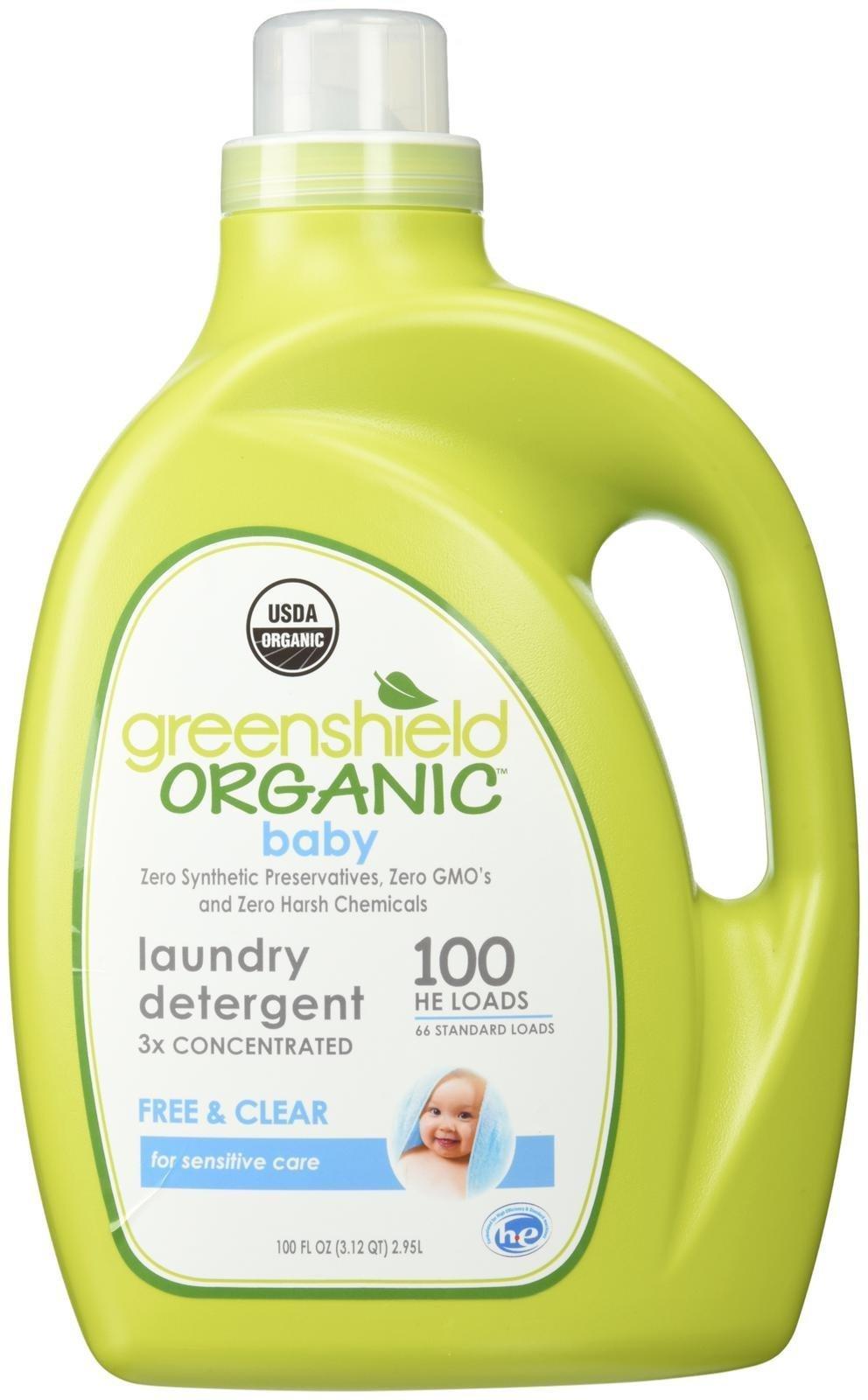 he detergent brands greenshield organic usda certified baby laundry detergent 100 ounce cheap detergent brands find