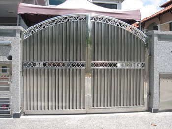 House Steel Gate Design From Automatic Gate Manufacturer