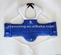 Excellent quality Reversable deluxe taekwondo chest guard,body protector