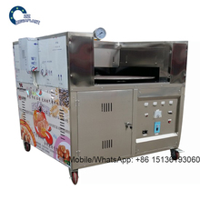 Commercial lebanese pita bread oven machines