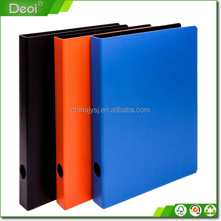 free samples 2 hole ring binder file folder a4