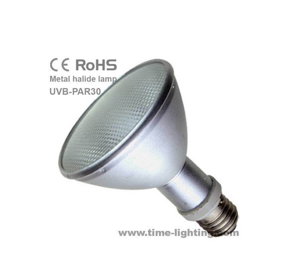 neues haustier lampen uvb uva reptilien lampe hqi par30 35w halogen metalldampflampen f r. Black Bedroom Furniture Sets. Home Design Ideas