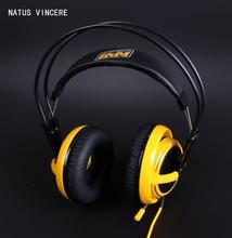 Brand Steelseries Siberia V2 Natus Vincere Edition Gaming Headphone noise isolating game Headphones Headset for headphone gamer