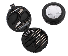 24Pcs Hand Tools Portable Tyre Shape Tool Kit And Promotion Tool Set