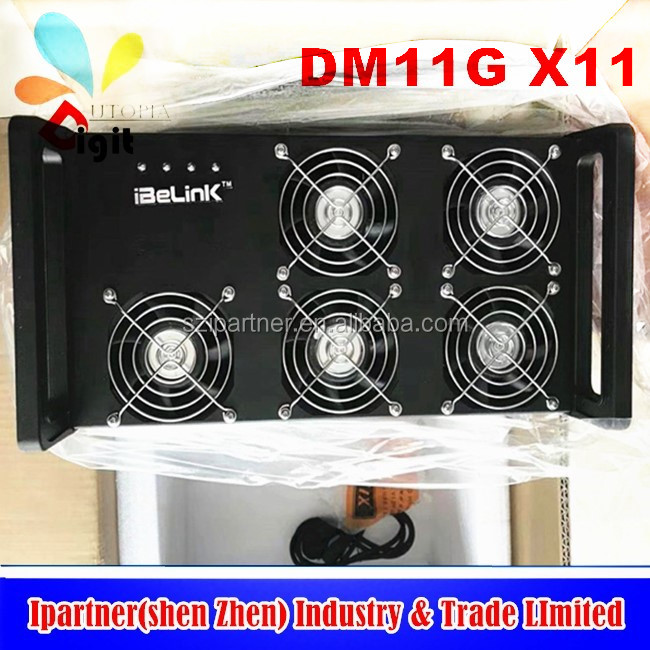 Stock Newest for ibelink DM 11G X11 11GHs10.8 Dash Miner ASIC x11 Chip TNB0303