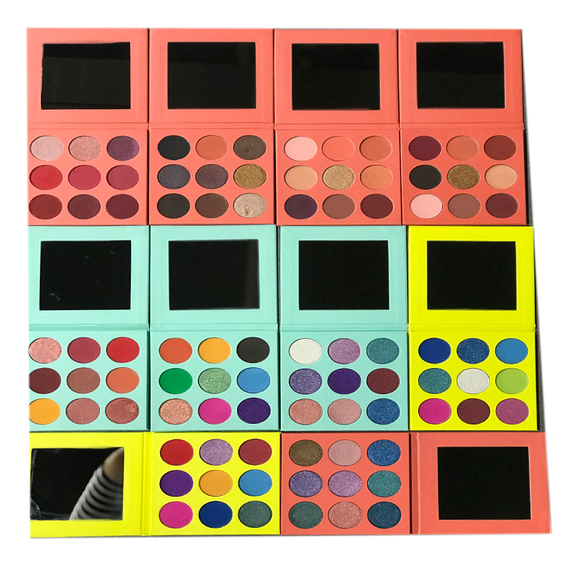 Panni Private Label Makeup Cosmetics 9 Color Eyeshadow