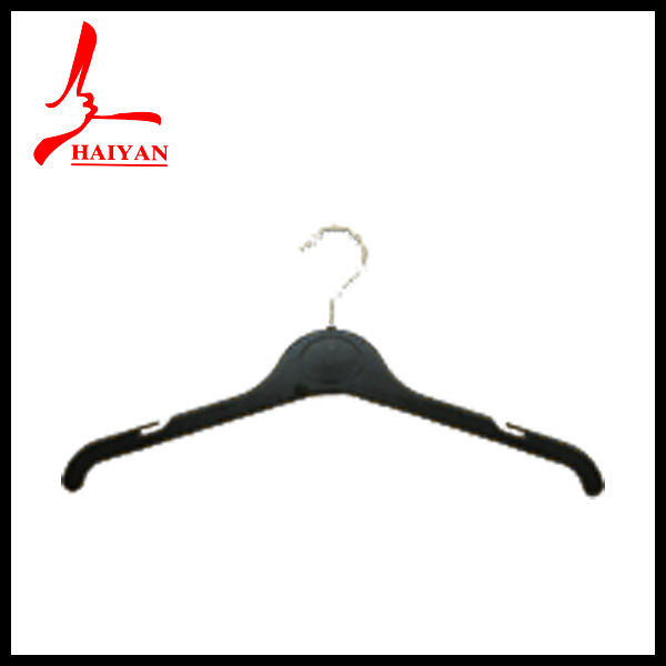 Brown leather coated hanger for men/ lady coat