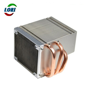 Best price zipper heatsink with copper pipe cpu heatsink