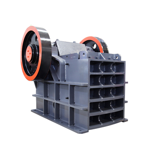 Easy transport gypsum plaster crusher, jaw breaker