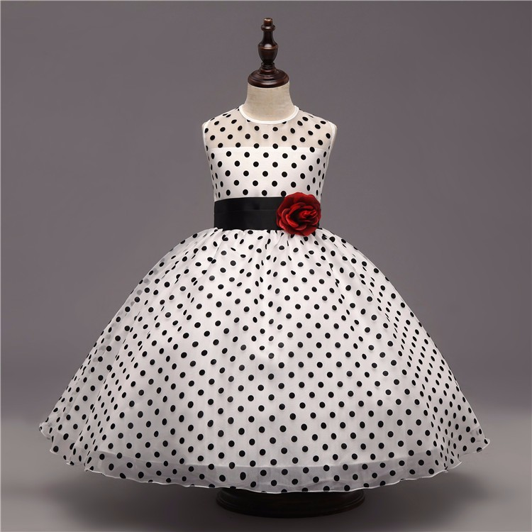 9ef851b4ad16 Detail Feedback Questions about Teen Girl Black Polka Dot Dress ...