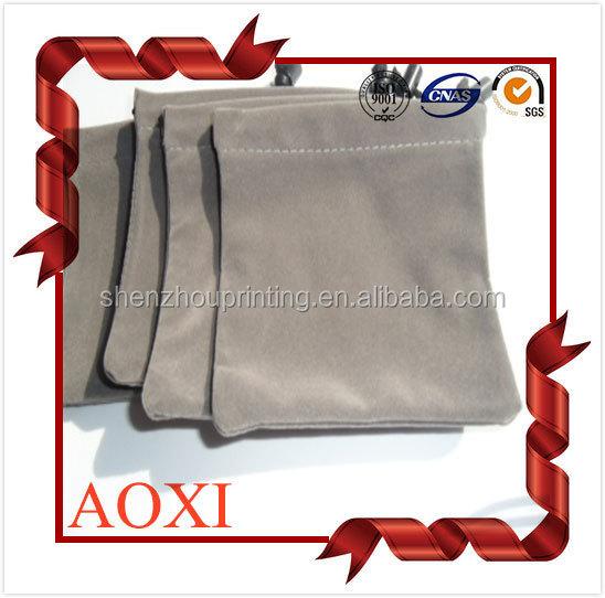China durável saco de veludo personalizado impresso ...