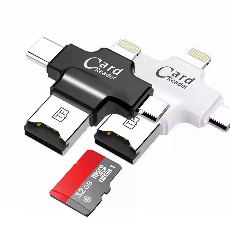 4 in 1 <strong>USB</strong> <strong>Flash</strong> <strong>Drive</strong> 32gb <strong>OTG</strong> IOS Type-C Android
