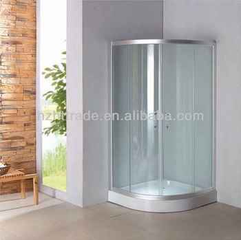 bathroom cheap tempered glass bath shower cubicle bath