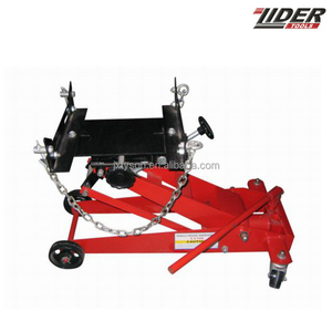 0.5Ton low profile Hydraulic car Transmission Jack with adapter