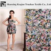 Truehao Textile 2015 Fashion 75D Digital Printed Polyester Chiffon Fabric/100% poly chiffon fabric/Fashion Printed Crepe Chiffon