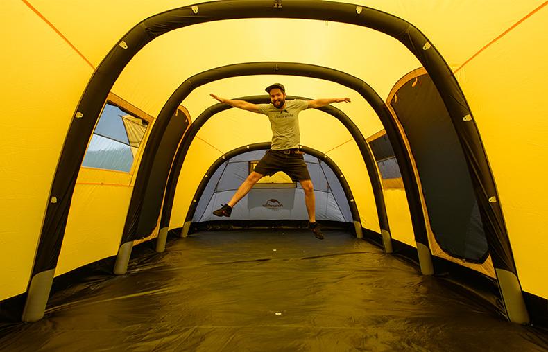 NatureHike Wormhole 8-10/4-6/3-4 People Large Luxury & Naturehike Wormhole 8-10/4-6/3-4 People Large Luxury Pop Up ...