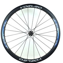 High Quality And Economic Price YOELEO SAT U Shape 38mm Blue Tubular 25mm Wide Chinese Bicycle Carbon Wheels