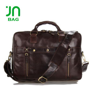 JIANUO Men leather tablet bag laptops bag dubai apple laptop bags