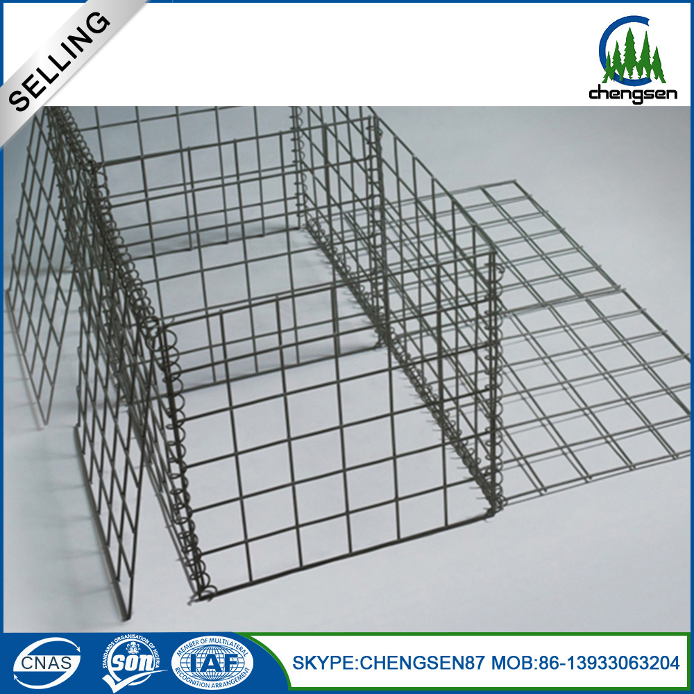 Cheap price Galvanized Welded Gabion Box for Stone Retaining Wall