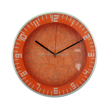 Custom aluminium large decorative wall clock fancy design