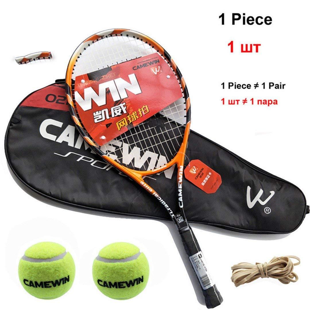 super popular 7c085 b0cbe Get Quotations · 1 Piece Hight-Quality Carbon Fiber Tennis Racket With  Tennis Bag For Women And Men