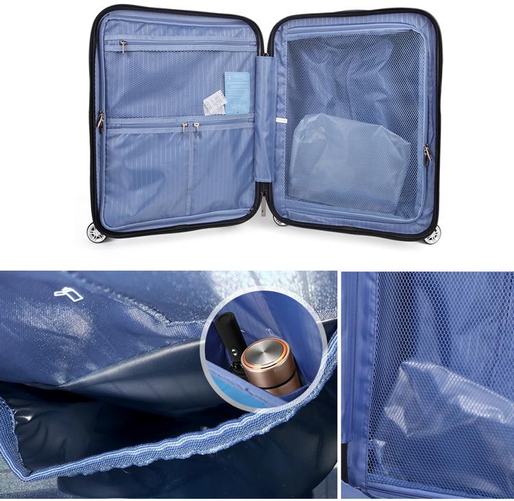 Cabina smart bagagli con usb, smart sacchetto dei bagagli del carrello