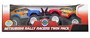 Mitsubishi Rally Racer Twin Pack Race Cars
