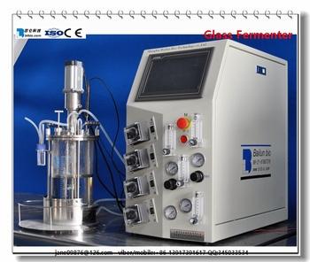 Lab Glass Reactor Cell Culture Fermenter Industry Pilot Fermentor - Buy Lab  Glass Bioreactor,Glass Bioreactor,Fermenter Product on Alibaba com