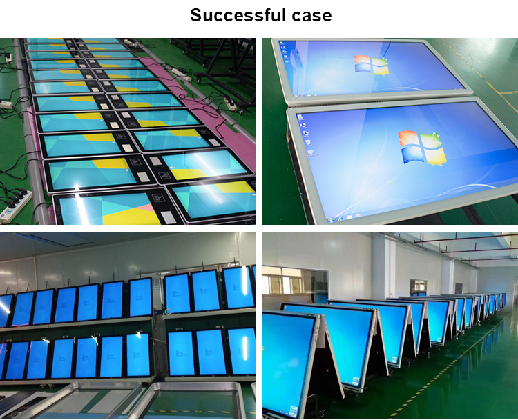 32 inch wandmontage interactieve touch screen lcd indoor digital signage displays