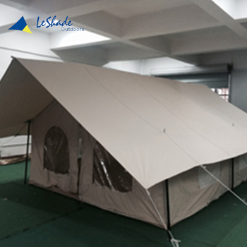New design fire resistant heavy duty large camping canvas bell tent