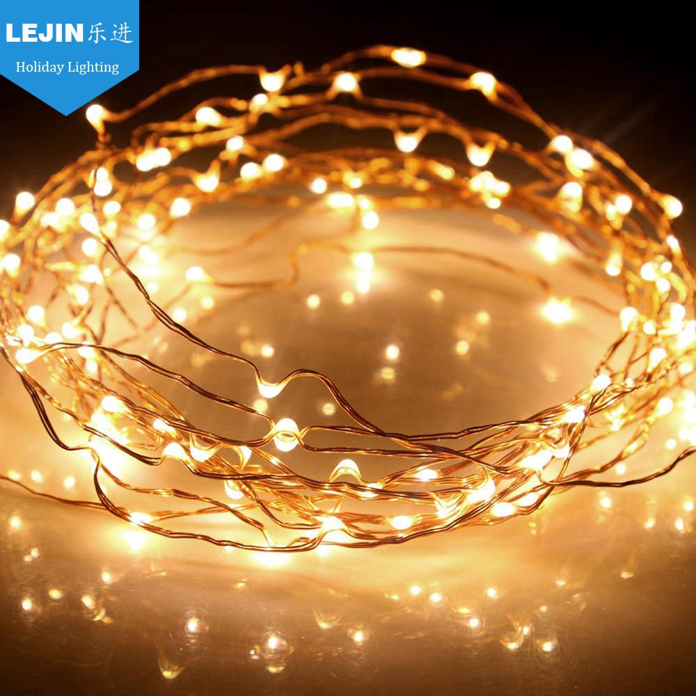 waterproof multicolor decoration led fairy light