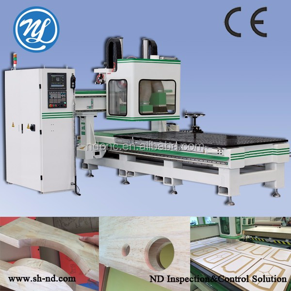 3d cnc machine Three process and circle ATC for wood engraving and cutting CNC router machine