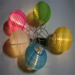 top sale holiday decor battery light led paper lantern