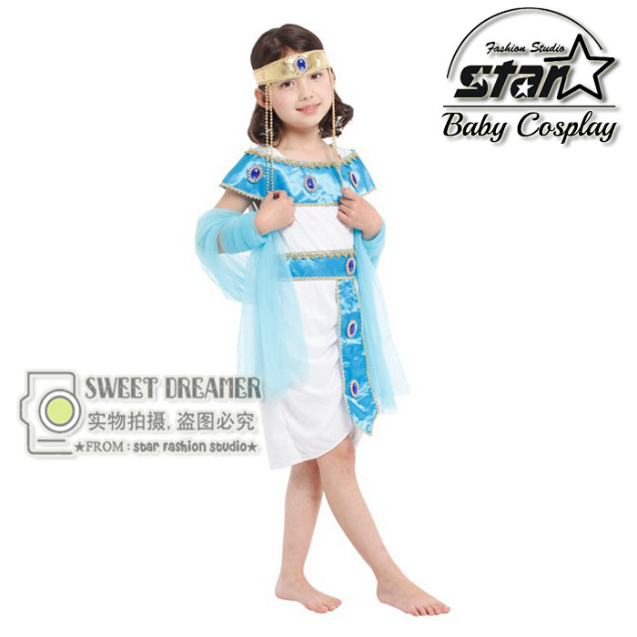 font b Children b font Satge Performance Egypt Princess font b Fancy b font White