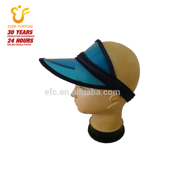 ae45288dec146 Hot Sale Transparents Uv Protection Plastic Sun Visor Cap From China ...